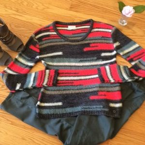 🌺 Numph for Anthropologie BEAUTIFUL Sweater; S/M!